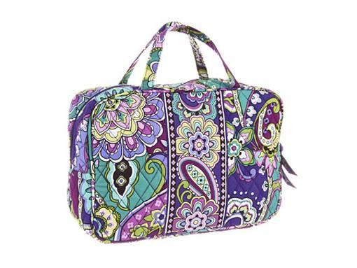new w tag vera bradley grand cosmetic bag ebay