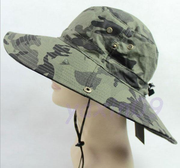 A2021 men women Military Boonie Hat-Camo Camouflage canvas ...