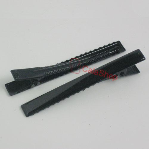 20-50-100-Alligator-Teeth-Clips-Hair-bow-prong-Square-20mm-30mm-45mm-55mm-80mm