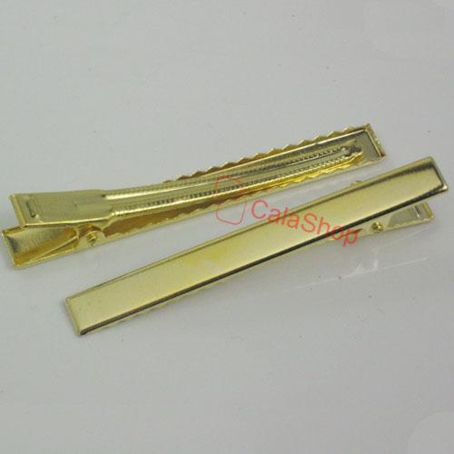 25-50-100-Alligator-Teeth-Clips-Hair-bow-prong-Square-20mm-30mm-45mm-55mm-80mm