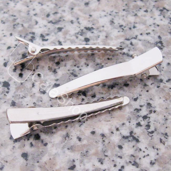 20-50-100-Alligator-Teeth-Clips-Hair-bow-prong-cusp-25MM-32MM-35MM-45MM-60MM
