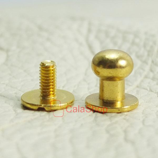 more screwback accent yellow screw earrings crown back double gold stud views