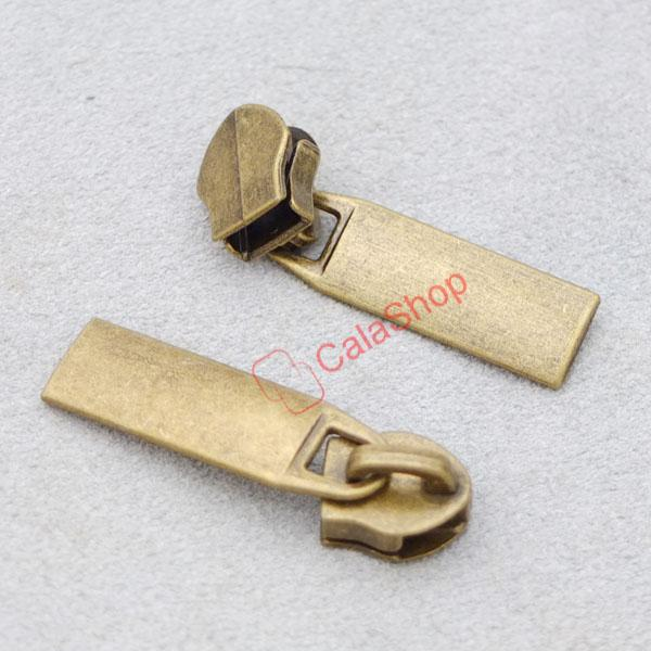 Slider Pull #3 Molded Zipper Puller 4 Repair Replace Kit Stop Jeans Slider CT271