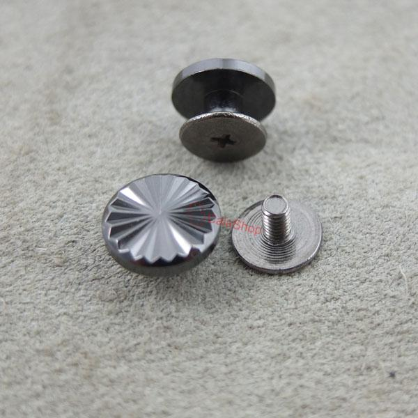 Nail Buttons: Head Button Stud Screwback Leather Belt Chicago Screw Nail