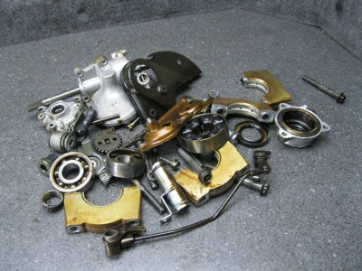 94 Honda Goldwing Gl 1500 Gl1500 Misc Engine Parts 27c Ebay