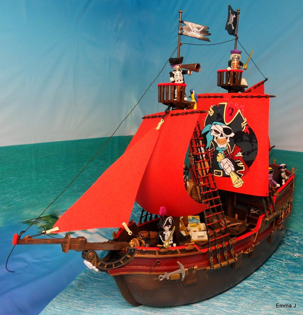 playmobil pirate ship for sale