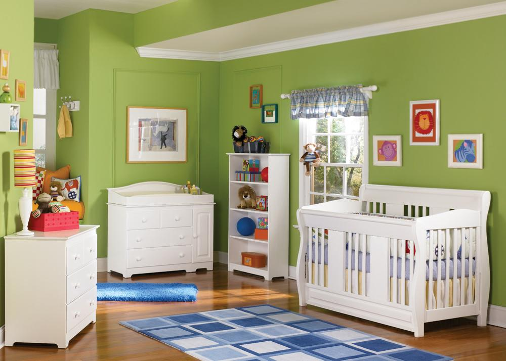 Nursery-Set-Eco-Friendly-Hardwood-Choose-from-3-Colors