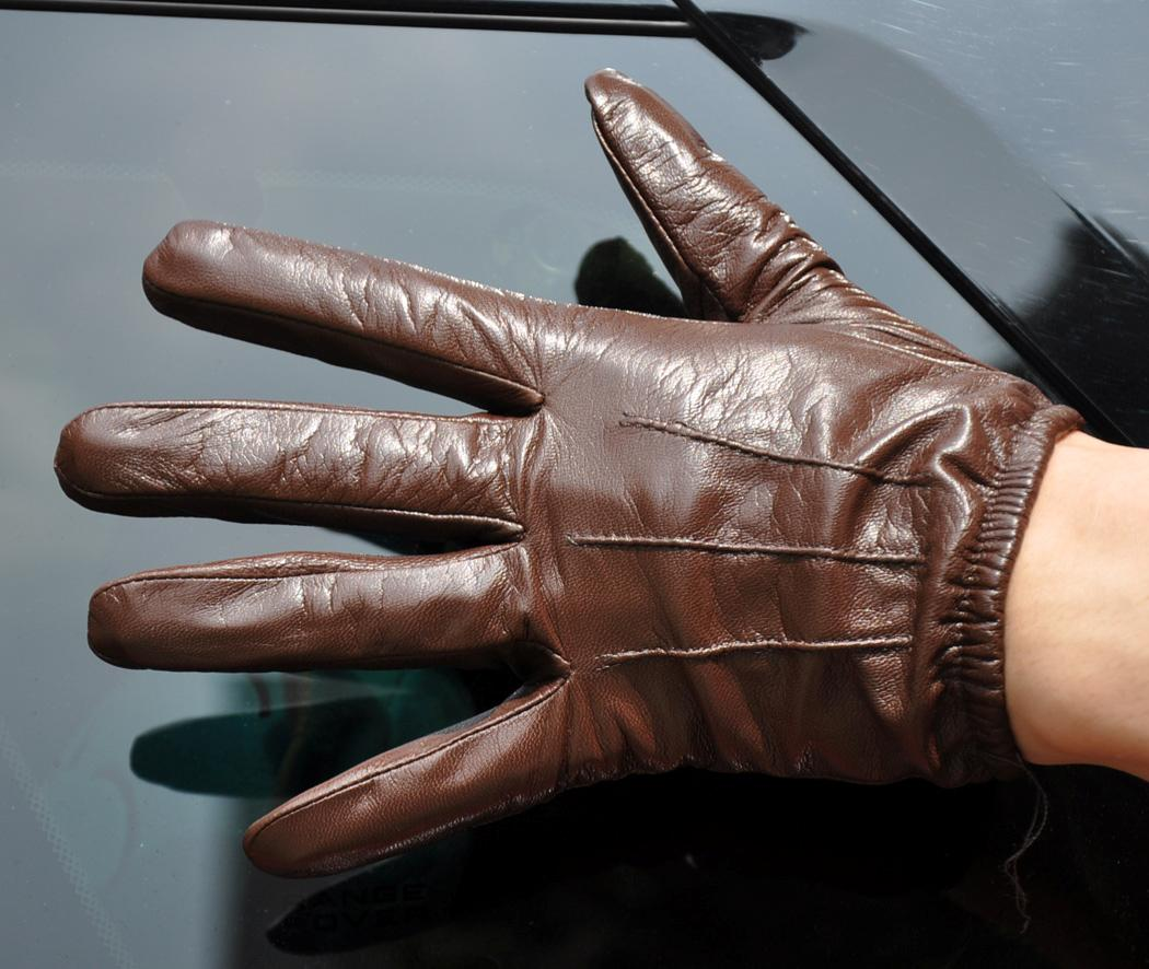 Mens leather driving gloves ireland -  21cm 8 3