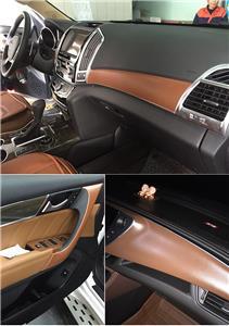 leather texture car sticker vinyl wrap sheet interior decoration 3 colors ebay. Black Bedroom Furniture Sets. Home Design Ideas