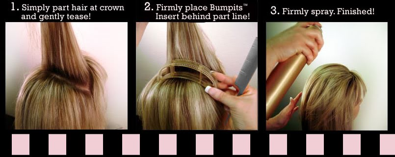 Как сделать объёмные прямые волосы