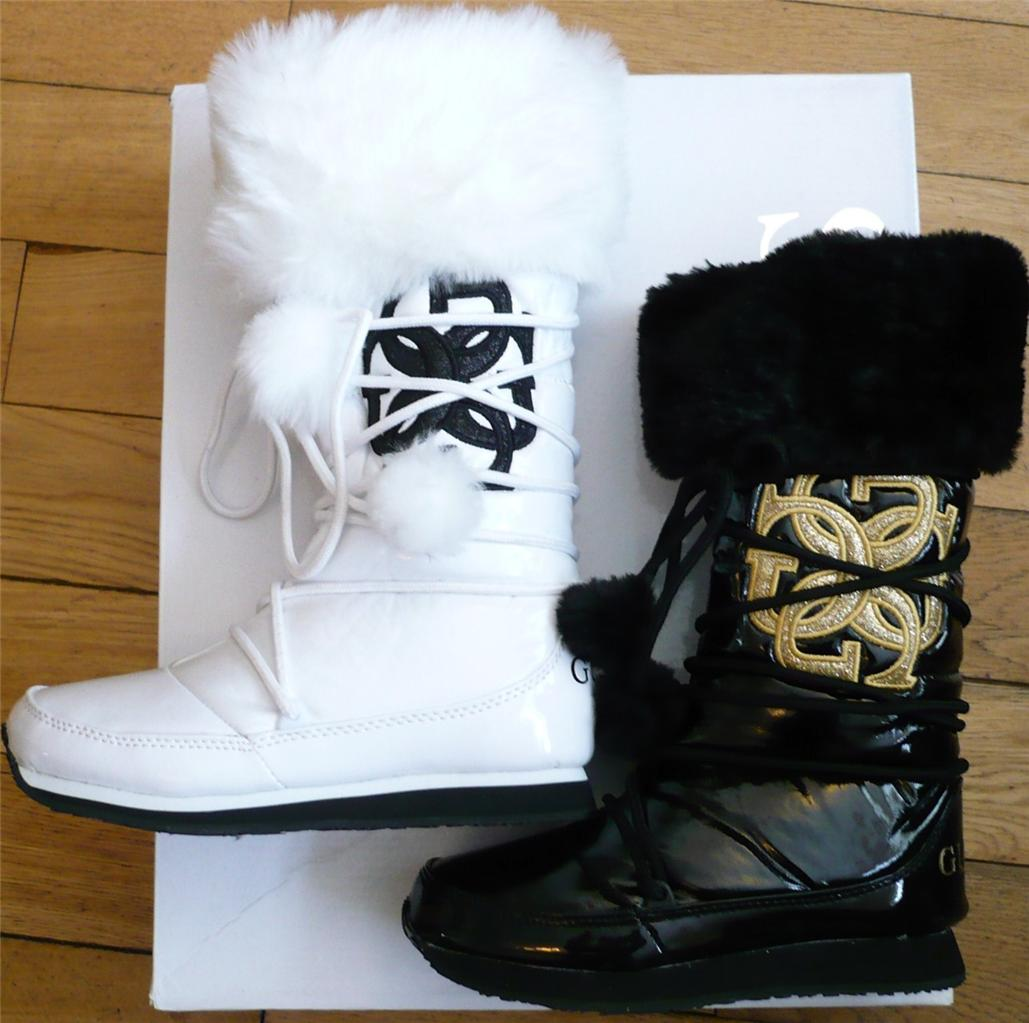 GUESS-US-3-4-5-6-7-8-9-10-11-12-13-1-2-3-WHITE-BLACK-PATENT-MOON-BOOTS ...