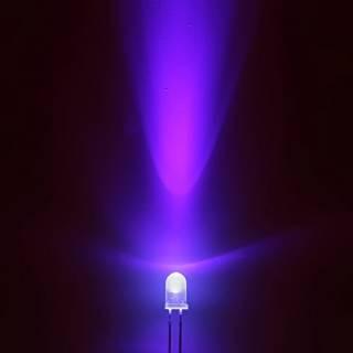 Super-Bright-3mm-or-5mm-Ultra-Bright-UV-Ultra-Violet-Purple-LED-Light-Lamp