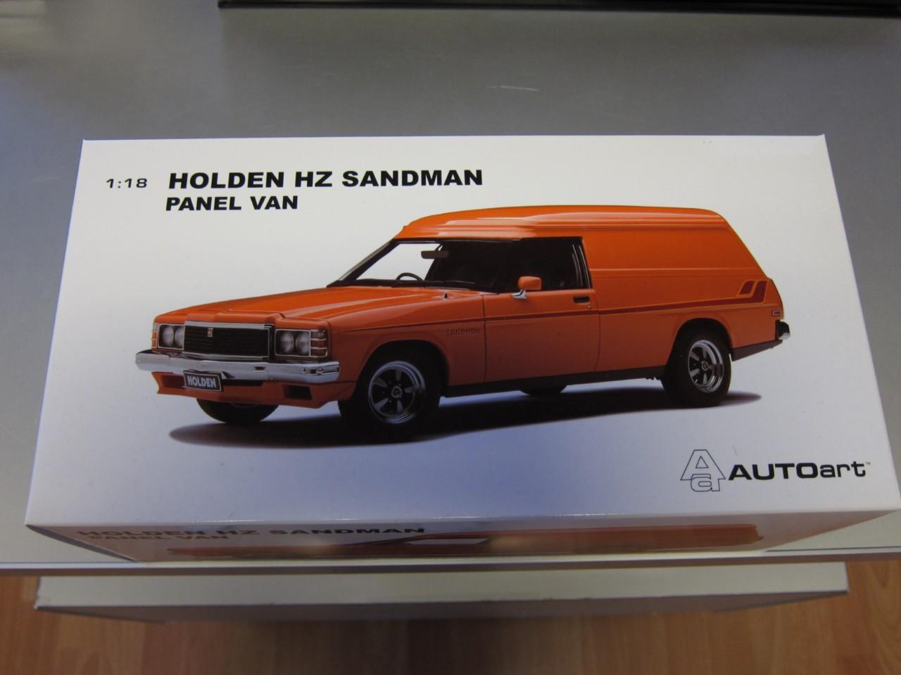 HZ Sandman Panel Van NEW!