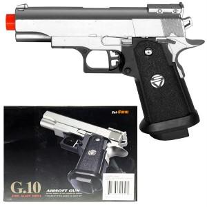 Metal G10 Compact Airsoft Pistol Spring Small Gun