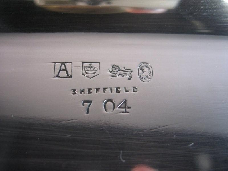 best date silver marks sheffield