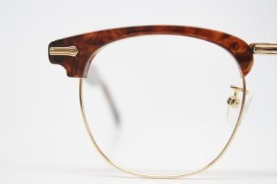 Retro Shuron browline eyeglass frames Tortoise vintage eye ...