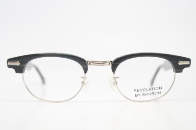 65114845d7 browline eyeglass frames Black Briar vintage eye glasses Revelation ...