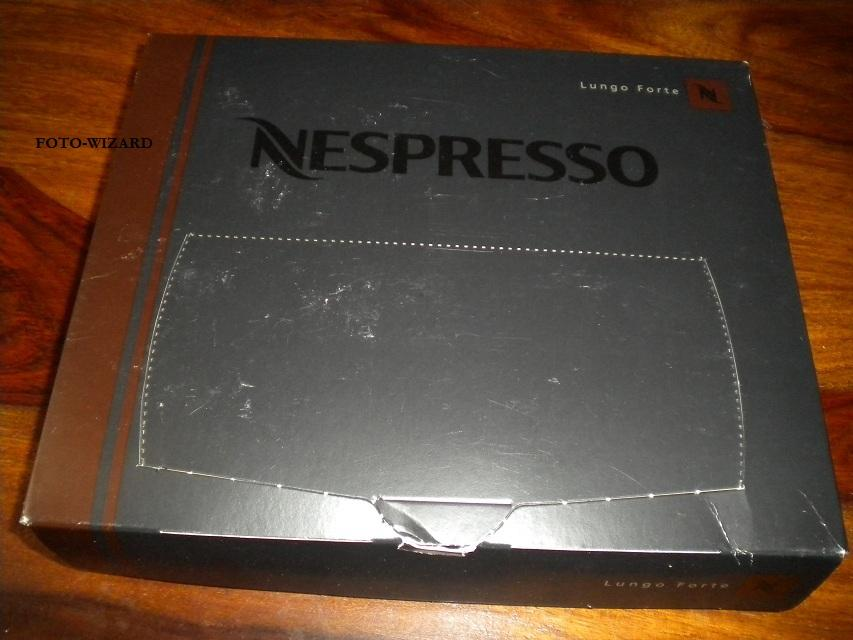 nespresso pro 50 capsules lungo forte for business use ebay. Black Bedroom Furniture Sets. Home Design Ideas
