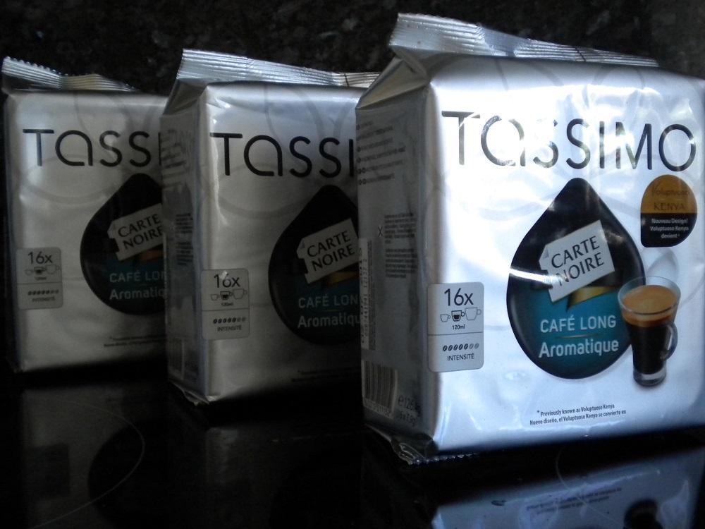 48 tassimo carte noire cafe long aromatique t discs 3 x 16 coffee pods ebay. Black Bedroom Furniture Sets. Home Design Ideas