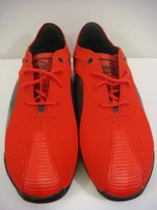 New Puma Official Ferrari Scuderia Kraftek SF shoes logo men red suede