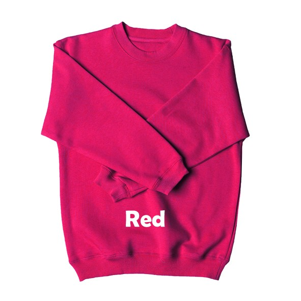 1-NEW-Round-Neck-KIDS-Fleecy-Sweat-School-Jumper-Sz-4-14