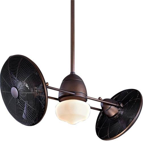 Minka Aire Oil Bronze Gyro Outdoor Ceiling Fan F402 ORB