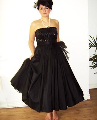 50s evening dress