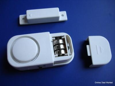 Details about Wireless Door Window Alarm Home Apartment Security LOUD