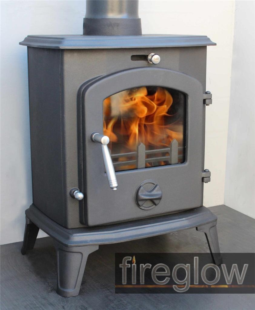 5kw fireglow28 high efficiency multi fuel wood burner for Small efficient wood stoves