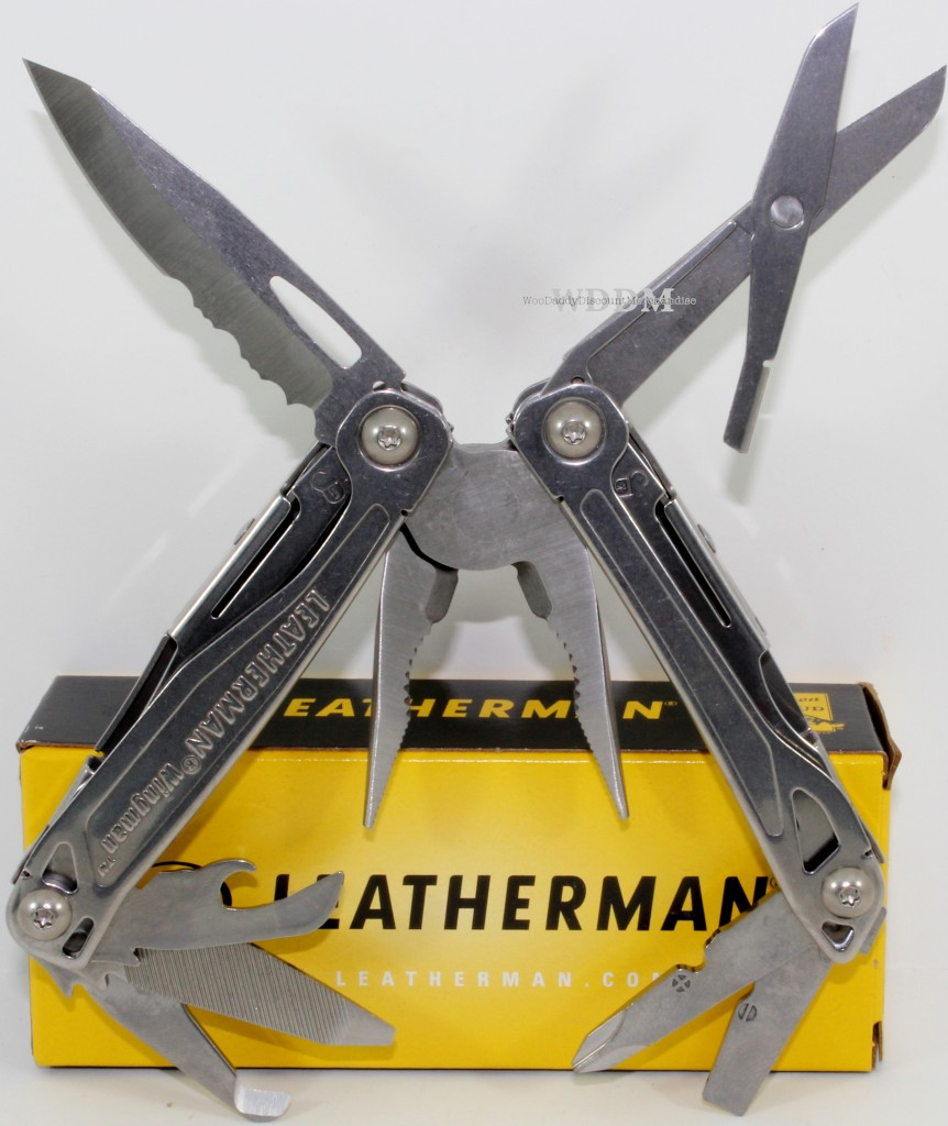 Leatherman wingman usa compact pliers survival hiking for Fishing multi tool