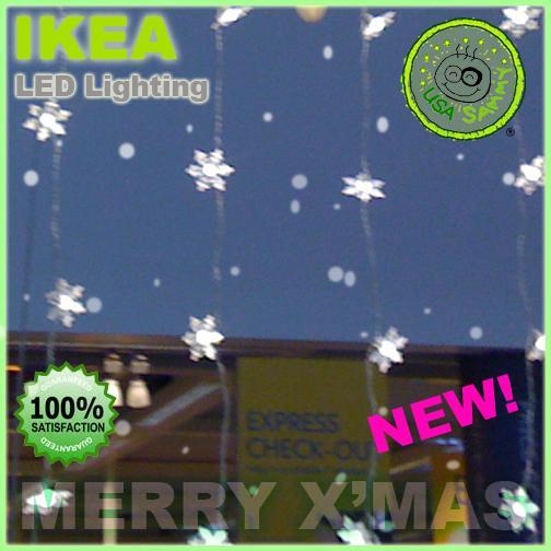 IKEA-Christmas-LED-Lighting-Decor-Kallt-Snowflakes-Lamp