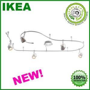 Ikea magnesium track adjustable 5 spotlight lamp light ebay for Ikea tracking usa