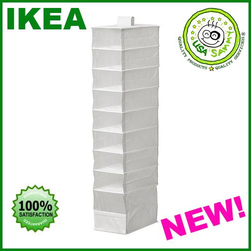 IKEA-hanging-Closet-Organizer-Clothes-Shoes-Storage-NEW