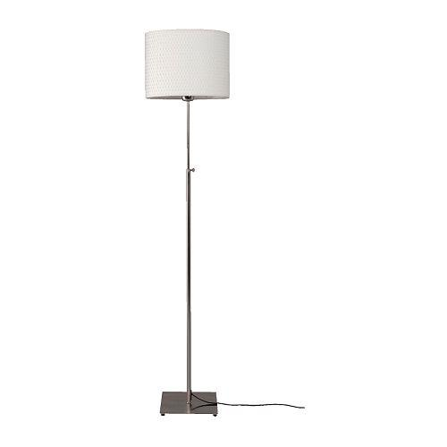 ikea modern designer floor lamp new alang grey or white ebay With alang floor lamp white