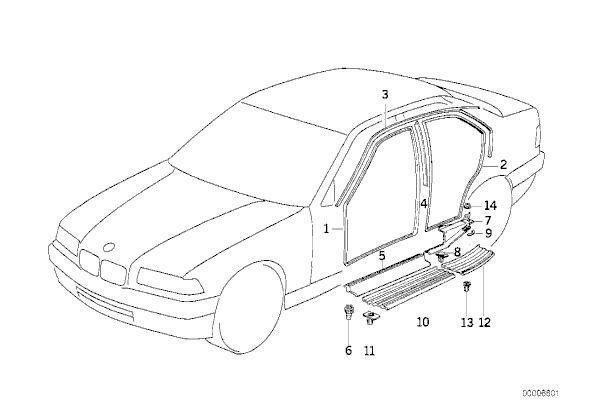 1994 bmw e36 door diagram  1994  free engine image for user manual download