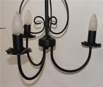 BLACK-CEILING-LIGHT-GOTHIC-VINTAGE-3-ARM-CHANDELIER