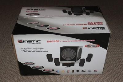 Kinetic Ka 5100 5 1 Multi Channel Surround Sound System