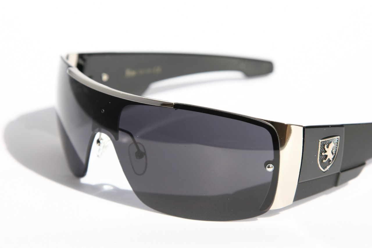 mens oversized sunglasses khan eyewear shield sporty wrap