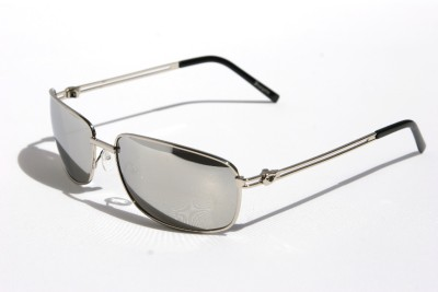 aviator sunglasses for men mirrored  Mens Premium Rectangle Aviator Sunglasses metal frame Insignia ...