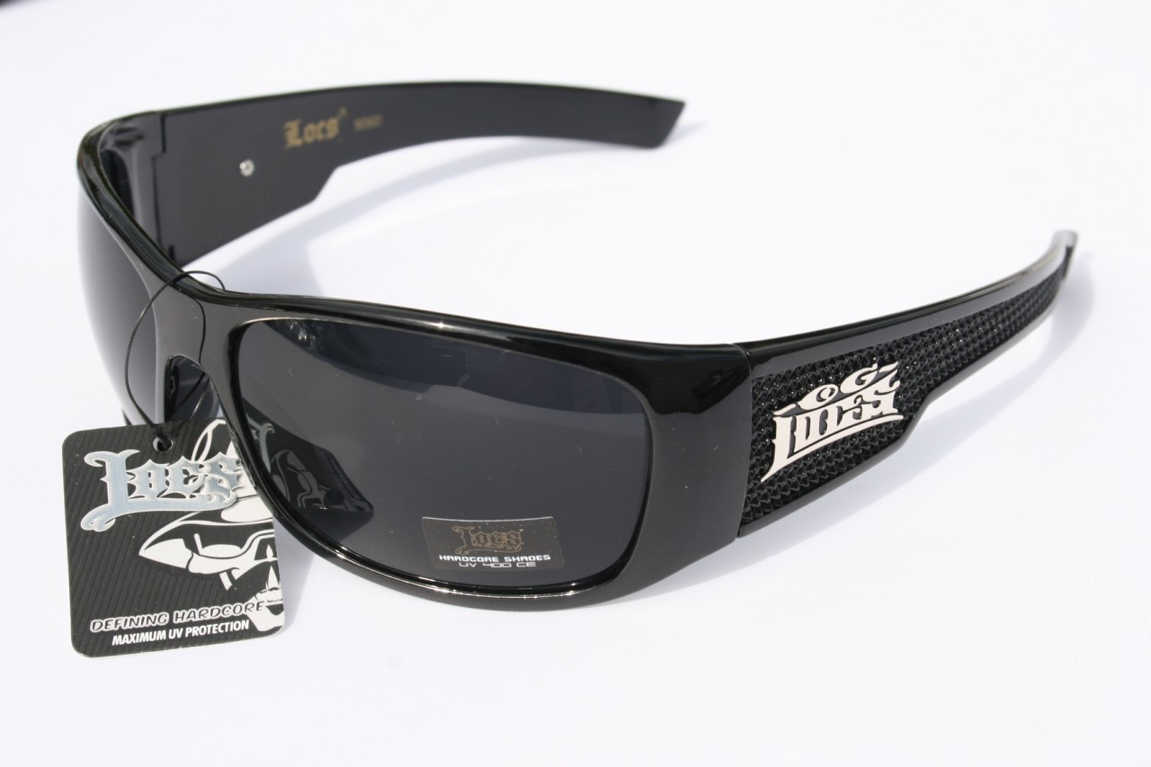 Large Mens Sunglasses  large men limited edition locs sunglasses dark lens motorcycle