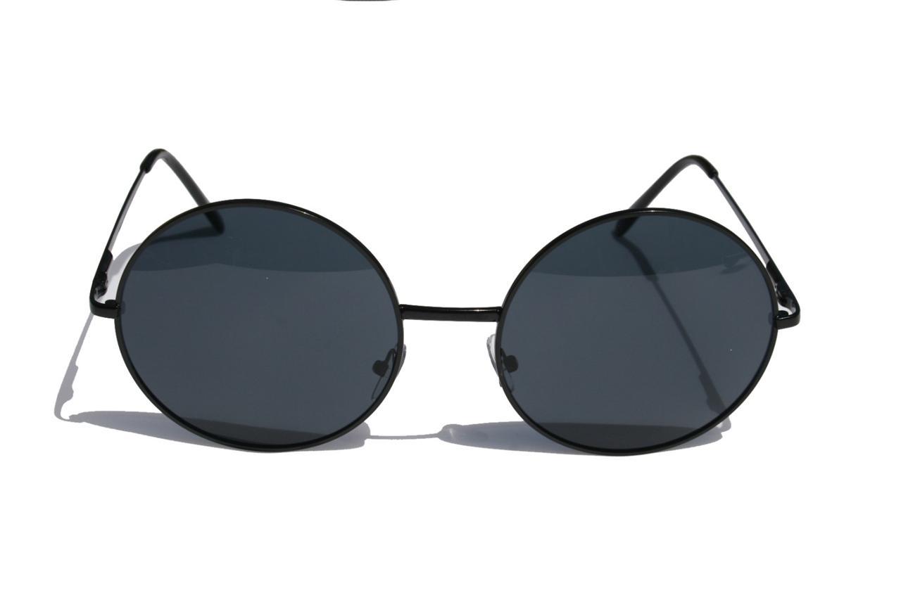 Vintage Metal Frame Glasses : Extra Large Round Vintage Metal frame sunglasses oversized ...