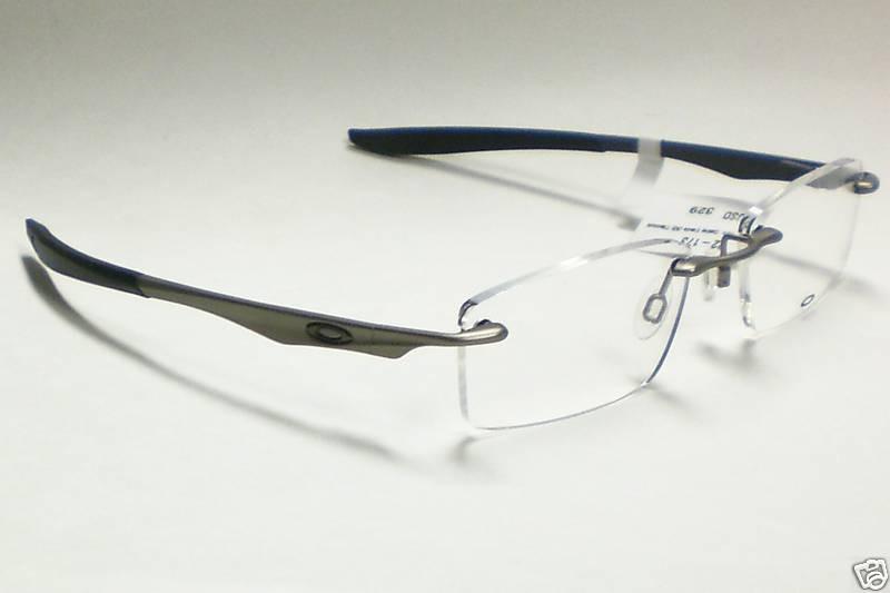 Oakley Titanium Frame Glasses : OAKLEY EVADE 22-173 PEWTER TITANIUM EYEGLASSES S. 53 eBay