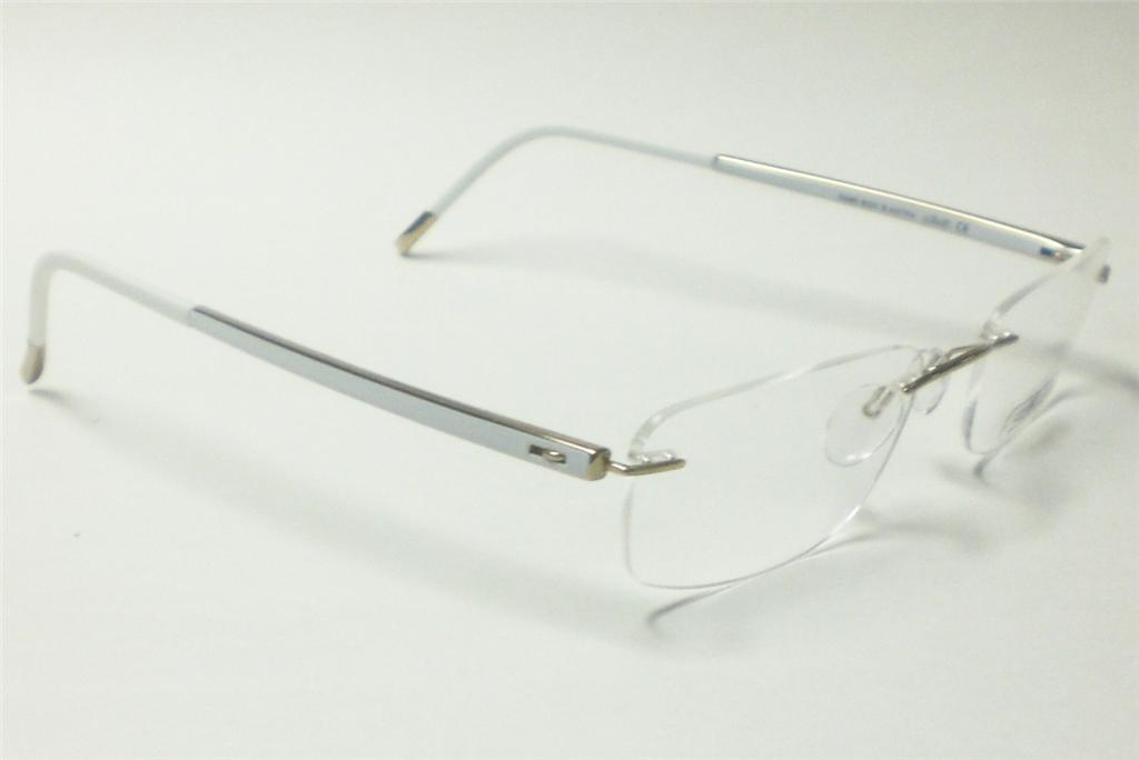 Silhouette Glasses Frame Parts : SILHOUETTE 7639 GOLDEN LIGHT 6051 EYEGLASSES 7642 51 19 eBay
