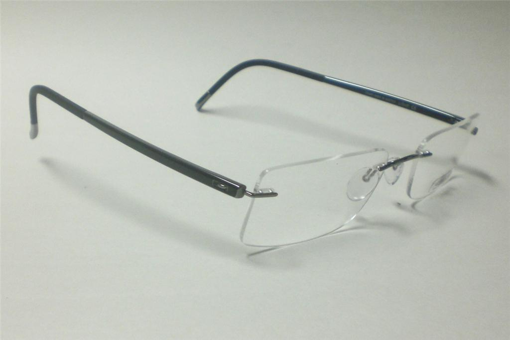 Silhouette Glasses Frame Parts : SILHOUETTE 7640 MYSTIC SHADOWS 6060 EYEGLASSES 7642 52 eBay
