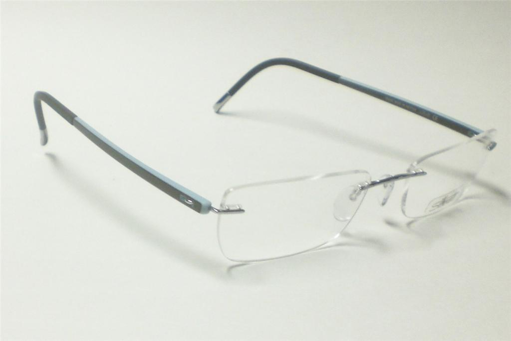 Silhouette Glasses Frame Parts : SILHOUETTE 6696 COOL STREAMS 6050 EYEGLASSES 7642 51 eBay
