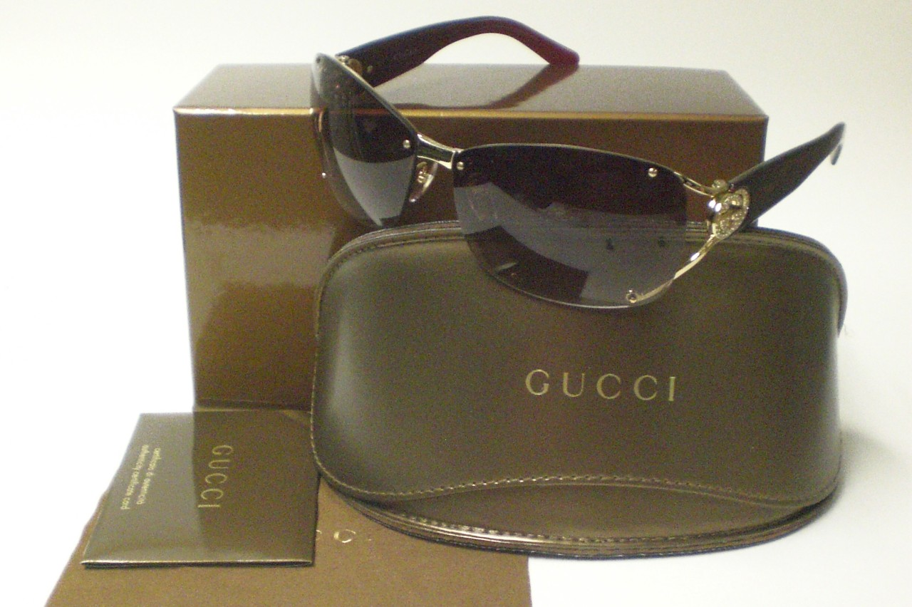 a538be7df7d GUCCI GG 2820 GG2820 GOLD J5G SUNGLASSES 2820 S AUTH on PopScreen