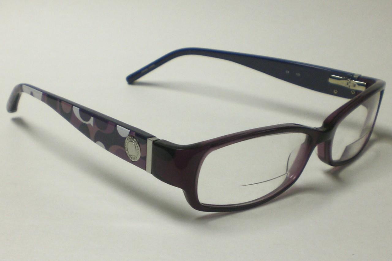 Coach Eyeglass Frames Purple : COACH BERNICE 844 PURPLE EYEGLASSES AUTHENTIC 51 eBay