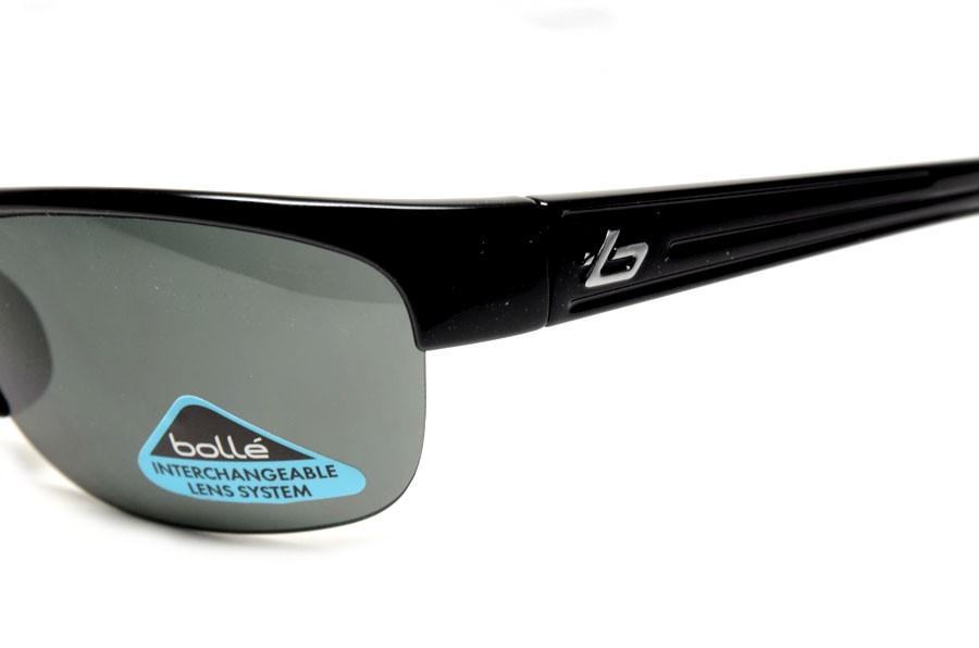 black polarized sunglasses  11356 black
