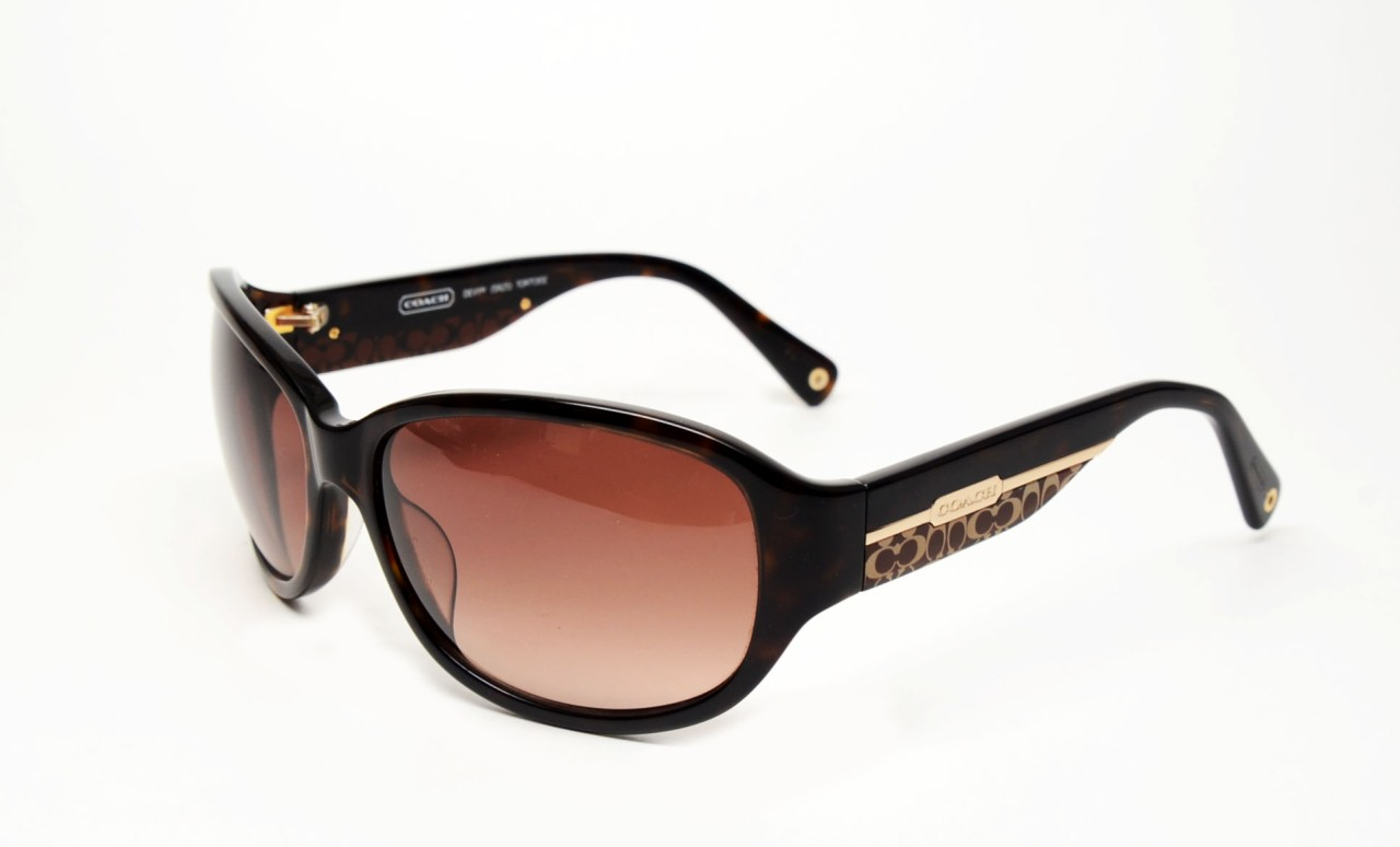 Details about COACH DEVYN S825 TORTOISE AUTHENTIC SUNGLASSESCoach Prescription Glasses