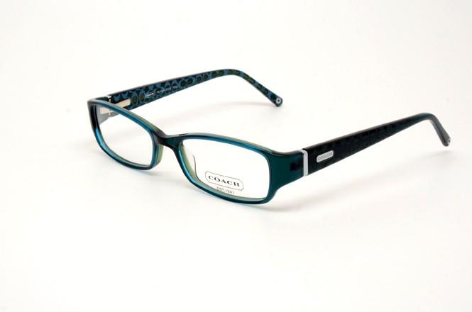 COACH NUALA 219 TEAL S.50 RX GLASSES PLASTIC EYEGLASSES ...